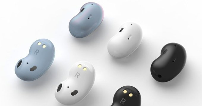 Samsung #GalaxyBuds 'Bean' true wireless earbuds surfaced online, expected to launch soon.  https://in.ohmyfind.com/ pic.twitter.com/SNrPId3qRf