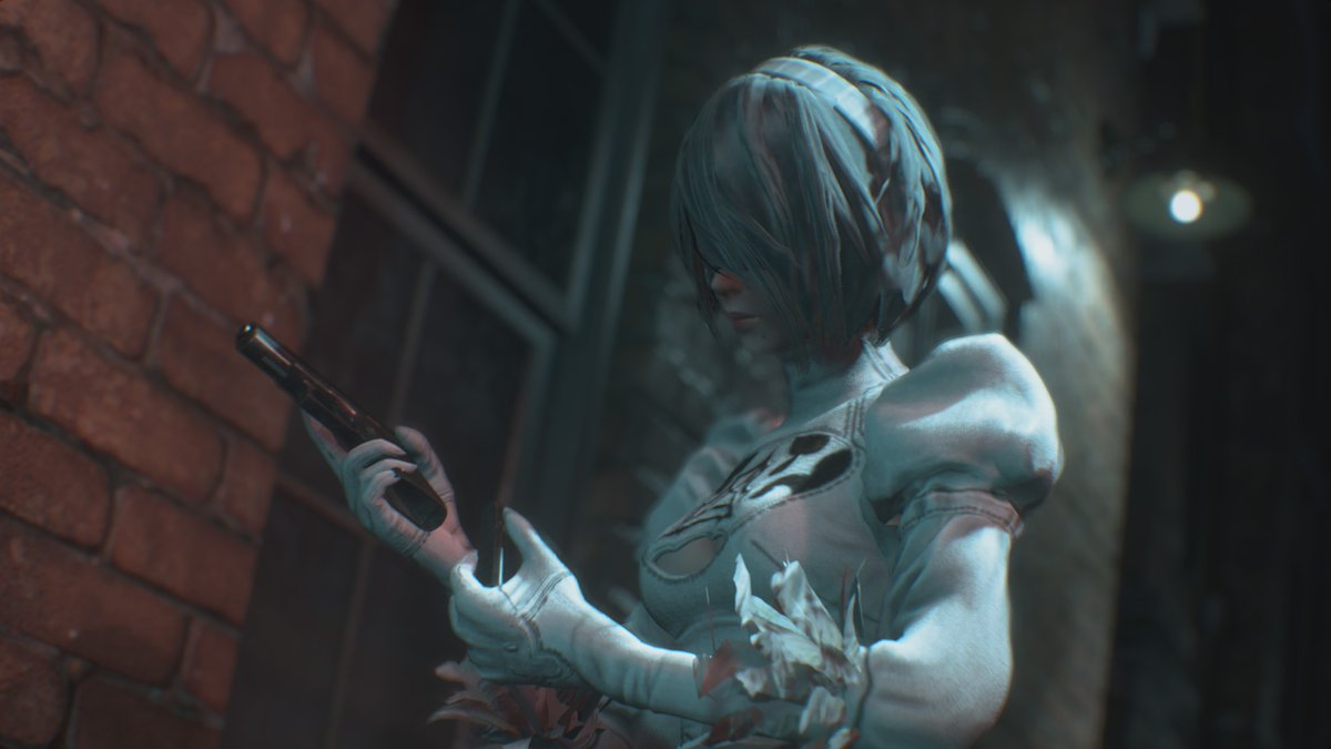 Lacus Clyne On Twitter Resident Evil 3 Remake With Mod Jill And
