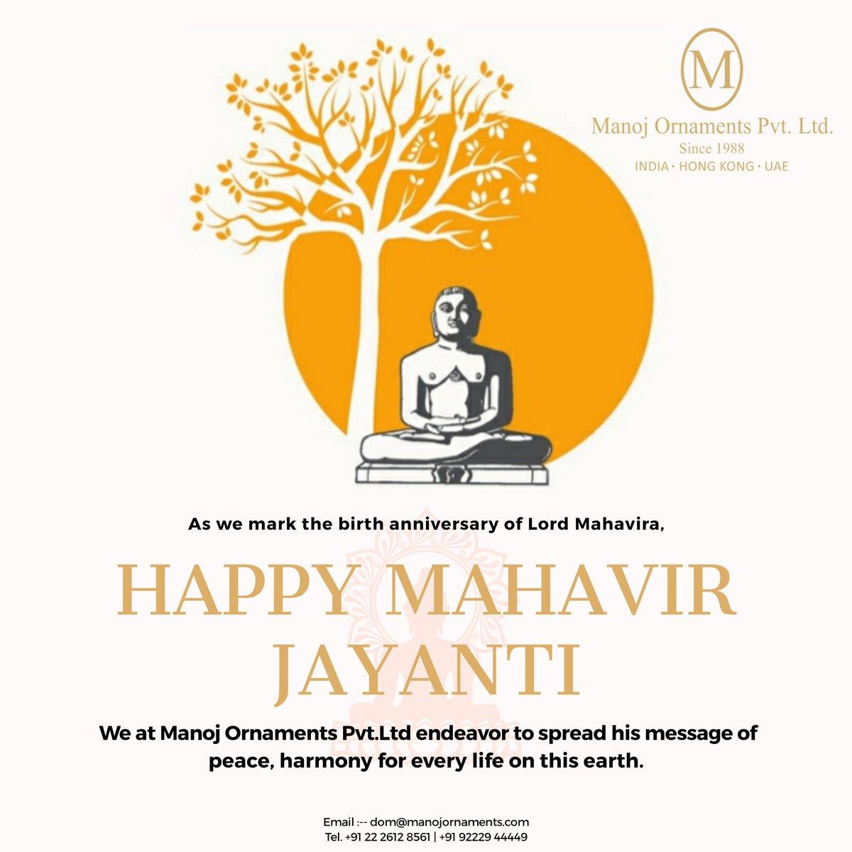 #MahavirJayanti #MahavirJanmaKalyanak #MahaveerJanmaKalyanak #MahaveerJayanti #महावीरजयंती #ManojOrnamentsPvtLtd #Mumbai #indianjewellery #indianjewelleryusa #indianbridaljewellery #modernjewellerydesign #contemproryjewellery #handmadejewelrydesigner #indianfestival