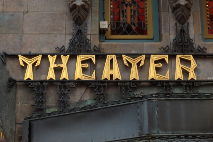 Above the entrance of the Theater Tuschinski from 1921. #Amsterdam #Typography #TypeInAmsterdampic.twitter.com/xuh5njOdTJ