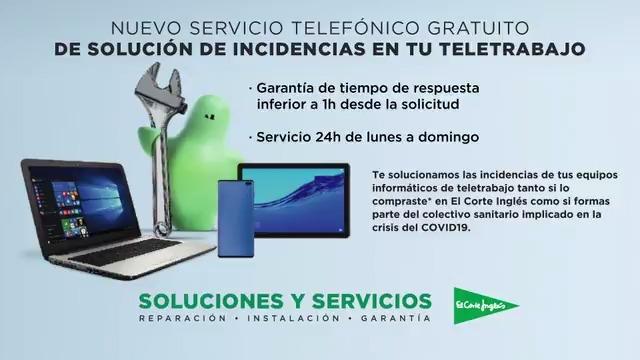 Resuelve tus incidencias de teletrabajo con nuestro servicio telefónico gratuito.* 📱💻  ⚠️ 𝐃𝐚𝐦𝐨𝐬 𝐩𝐫𝐢𝐨𝐫𝐢𝐝𝐚𝐝 𝐚𝐥 𝐞𝐪𝐮𝐢𝐩𝐨 𝐬𝐚𝐧𝐢𝐭𝐚𝐫𝐢𝐨 𝐢𝐦𝐩𝐥𝐢𝐜𝐚𝐝𝐨 𝐞𝐧 𝐥𝐚 𝐜𝐫𝐢𝐬𝐢𝐬 𝐝𝐞𝐥 #Covid19. Infórmate ➡️ http://bit.ly/2V3N66Q #EstamosATuLado