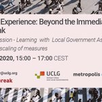 Image for the Tweet beginning: Don't miss @uclg_org @metropolis_org @UNHABITAT
