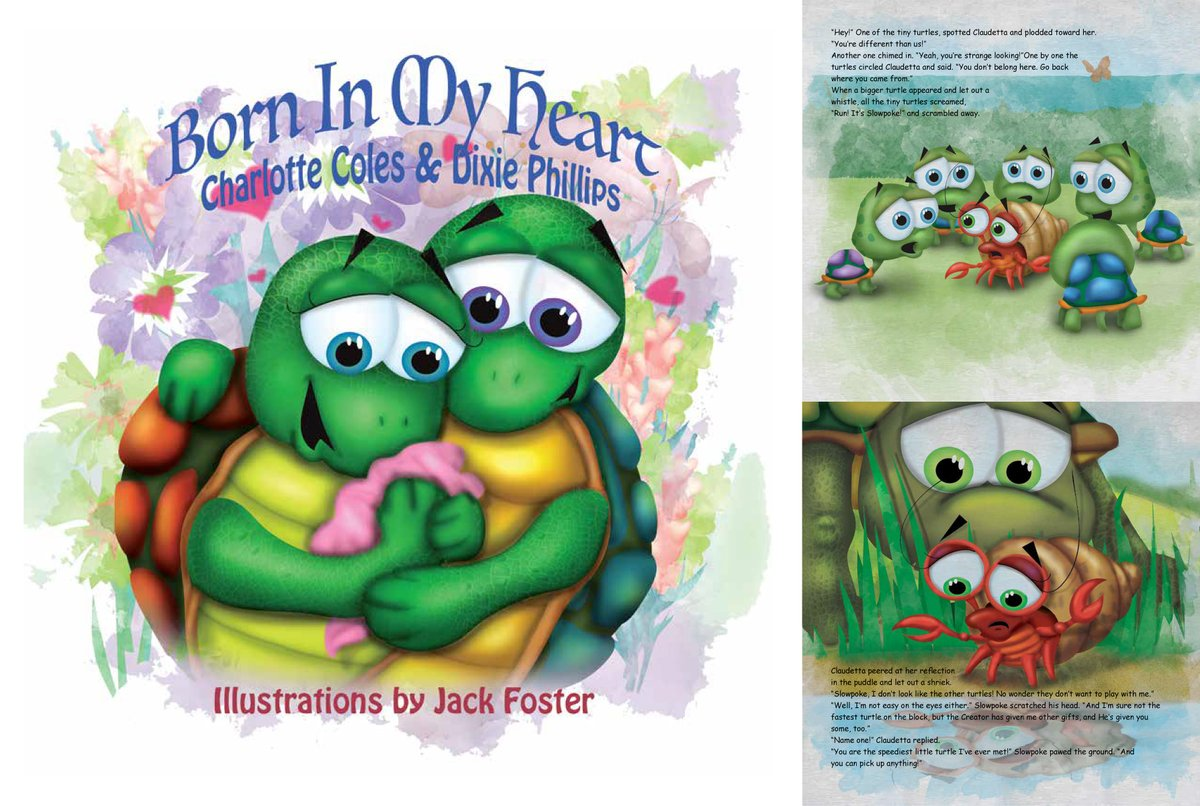 Yay! Born in My Heart, written by Charlotte Coles and Dixie Phillips has been released! A special book about being chosen into a family. #SCBWI #kidlit #childrensbooks #picturebook #picturebookart #scbwi_il #childrensbookillustration
