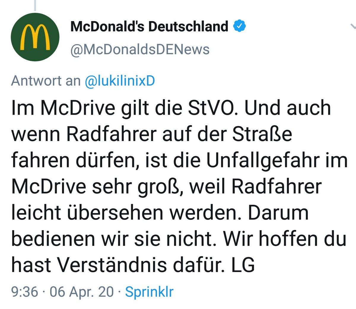 Mcdonald S Deutschland On Twitter Hi Der Praktikant Hier