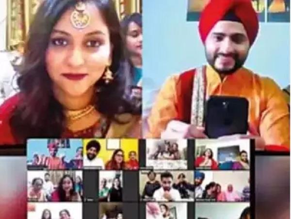 India Zoom Wedding