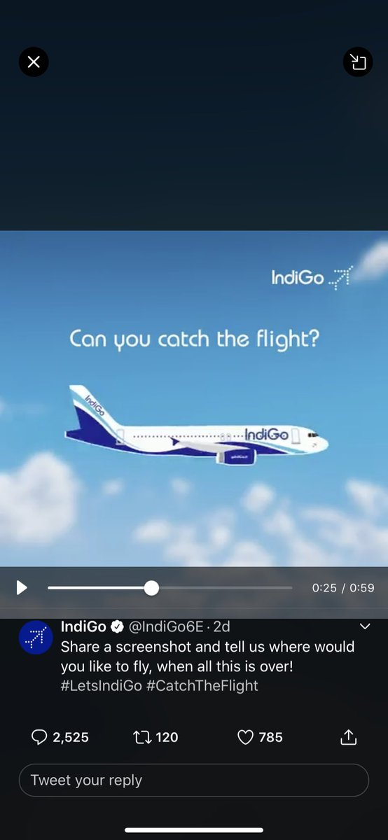 I would like to go Maldives #catch the flight#lets indigo , and I love indigo pic.twitter.com/fJBRAtJRDV