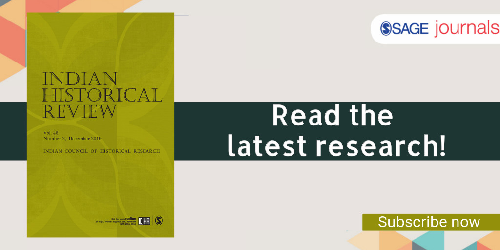 Read the comprehensive research on #FrenchAcademicForays in the Eighteenth-Century North India @ ow.ly/j2tn50z4dmZ #IndianHistoricalReview #History #18thCentury