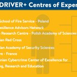 Image for the Tweet beginning: The DRIVER+ network of Centres