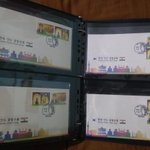 Image for the Tweet beginning: @KoreaStampSoc FDC Korea India Joint