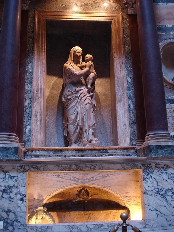 6 aprile 1520 -6 aprile 2020 Ricorre oggi il 500 anniversario della morte del grande #Raffaello Sanzio, la cui tomba è custodita all'interno del #pantheon April 6th 1520 -April 6th 2020  Today is the 500th anniversary of #Raphael Santi's death, whose tomb is inside the #pantheon https://t.co/QlAj4sfV9H