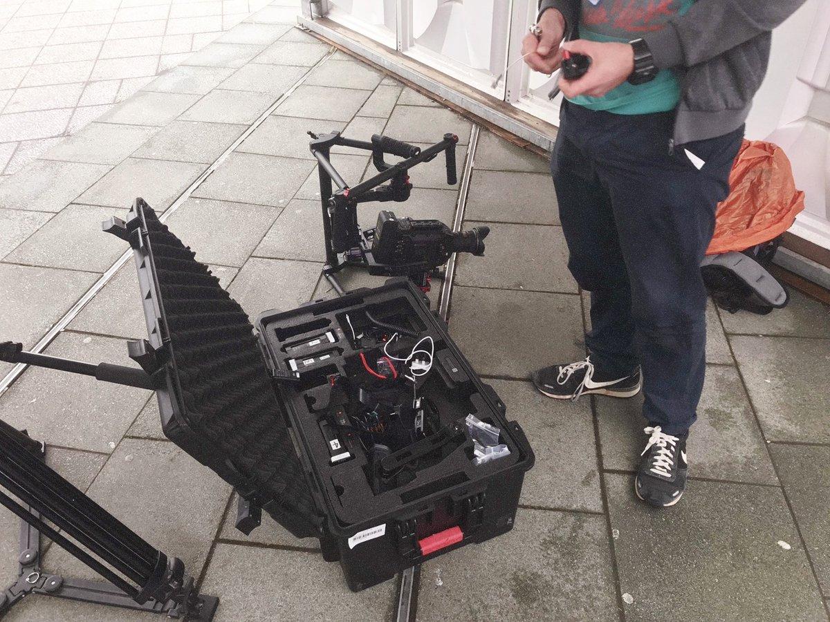 Camera setting up... #videoproduction #nottingham