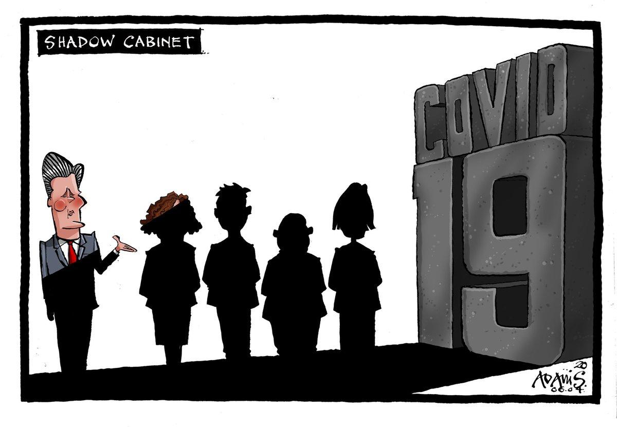 Our @Adamstoon1 @EveningStandard on the Shadow Cabinet