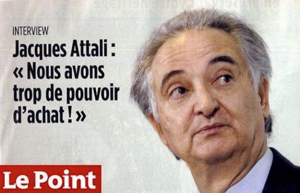 RT si tu es dégoûté par les idées de Jacques Attali, l'homme qui se cache derrière Emmanuel Macron... https://t.co/8M8bqnAYJD
