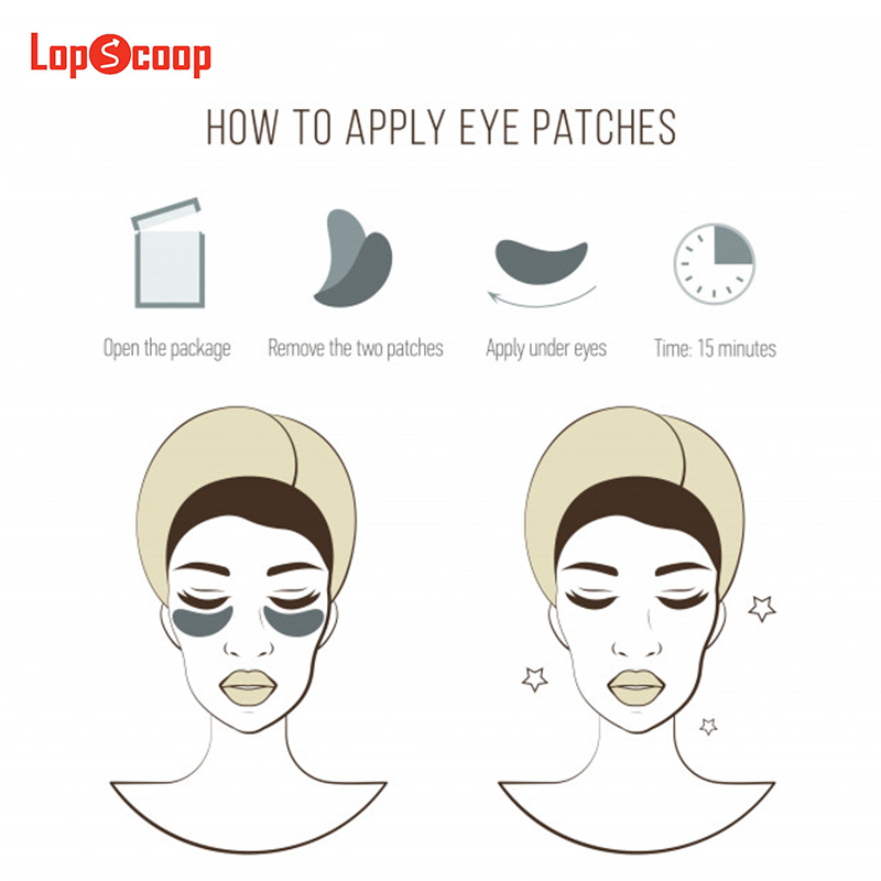 Follow the instruction to apply the #eyes  patches easily. pic.twitter.com/mpYs1ueoMC