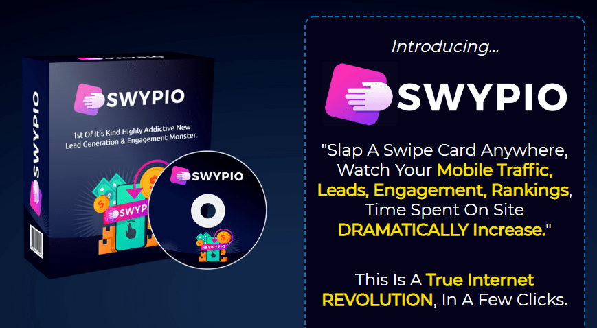 Swypio Software & OTO Review by Tom Yevsikov – Best new software creates Unlimited Swipe Cards you can put Anywhere that instantly swypify your business and explode your traffic, engagement, and leads with over 3304% conversion… https://www.jvupsell.com/swypio-software-oto/ …pic.twitter.com/y05W4hIWns