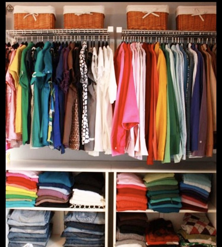 Holiday Challenge Day One: Sort out your clothes  Clear out your wardrobe and drawers. Hang up or put away anything that you want to keep. Get a charity shop pile going for the rest! #EasterHolidays #positivemindset #positivementalhealth #StayHomeSaveLivespic.twitter.com/gii2RwskUP