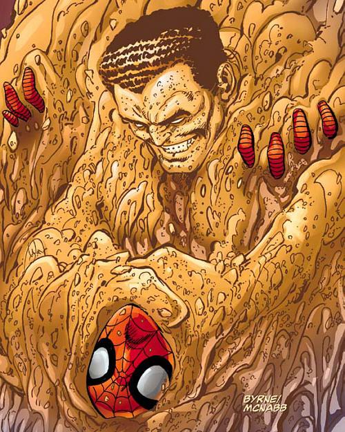 sandman spiderman pictures - 500×625
