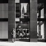 Image for the Tweet beginning: Looking back to midtown Manhattan