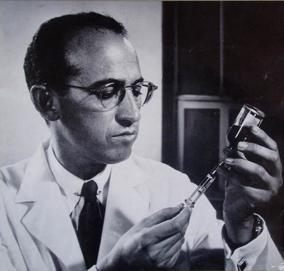 #ManCrushMonday My man, Dr. Jonas Salk. He never went after a patent; He wanted the world to have the vaccine.