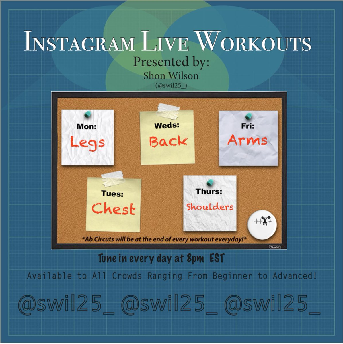 A dream of mine that I'm finally making a reality.... tune in to (@ swil25_) on Instagram. Workouts fit for both Men and Women !  #fitness  #FitnessMotivation #FitnessLife   #Cardio   #GymLifestyle   #Athlete   #GymDay   #FitBodyFitMind   #LoveForGym<br>http://pic.twitter.com/wRdM0zDqqj