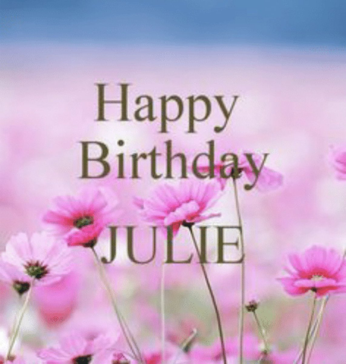 Join me in Wishing @Julie_McWeirdo a very Happy Birthday 🎂 #April4th Happy Birth Month! Stay Safe ❤️❤️❤️❤️