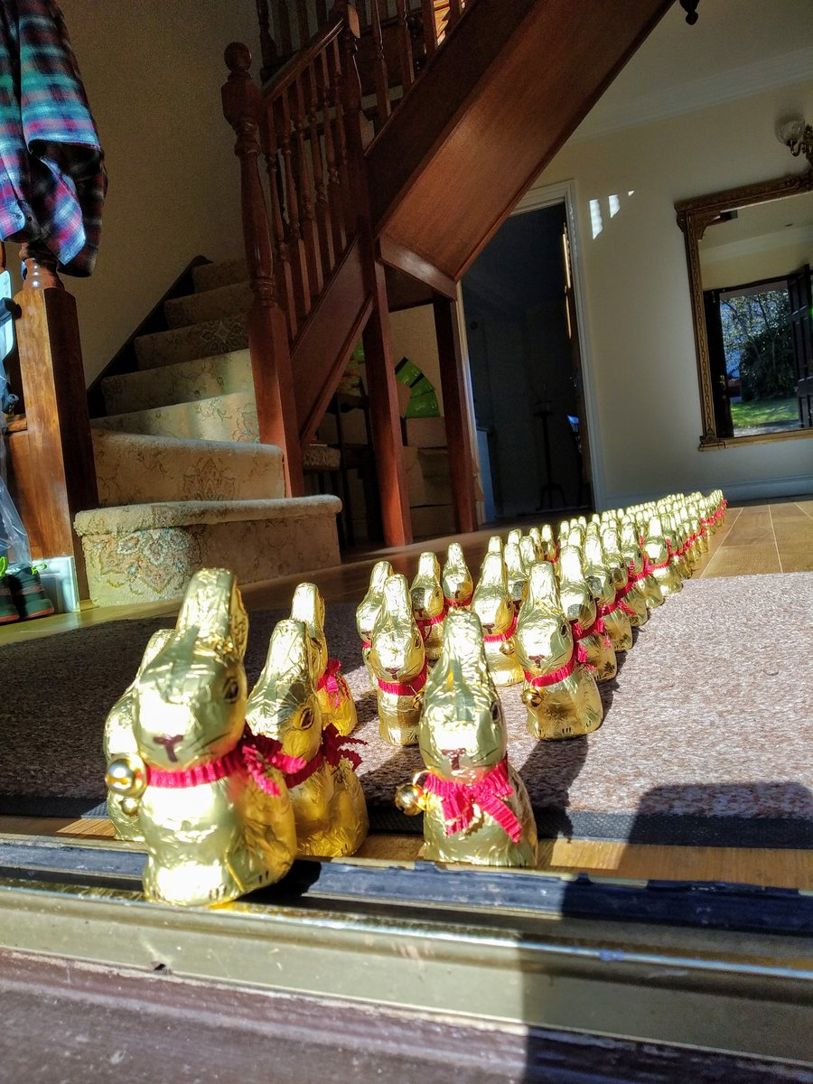 Bye bye bunnies! We have had lots of fun with the #lindtbunnystories and now it's time for them to go and bring some enjoyment to a few local causes.  #COVID19 #MondayMotivation #lindt #Creative pic.twitter.com/JirWjjoTa1