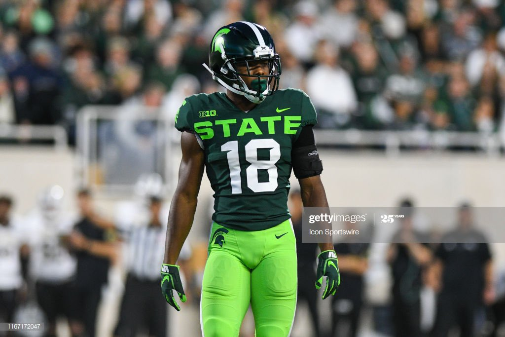 Blessed To Be Re-Offered By Michigan State University 💚 #GoGreen