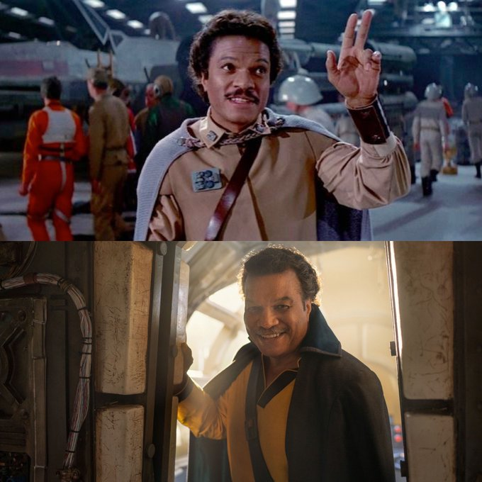 Happy Birthday Billy Dee Williams Even his mustache is cooler than you