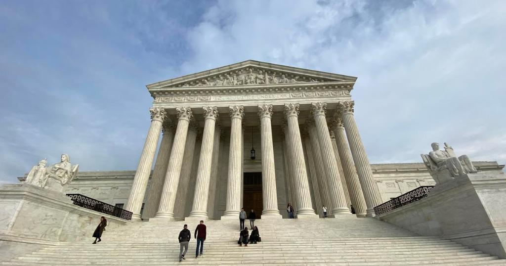 Supreme Court cancels April oral arguments amid coronavirus crisis cbsn.ws/2XdhQ84