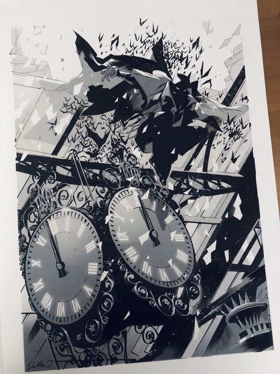 Batman commission.  From Gotham by Gaslight Ink on A3 Paper!  #batman #dccomicspic.twitter.com/eY7zkTHCQk