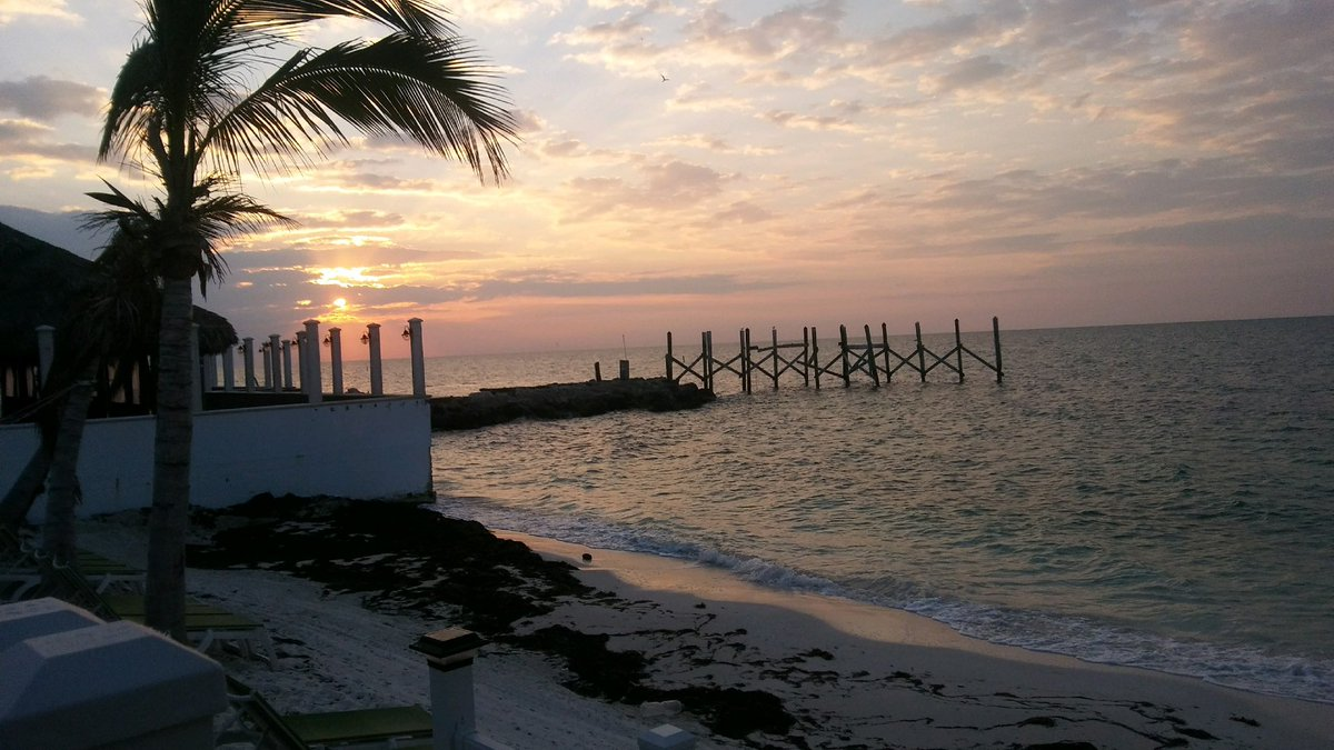 Good #morning from a Key Colony Beach. Here's this morning's #perfect #sunrise. Please share your favorite sunrise or #sunset pic today - let's share great #memories! #floridakeys #flkeys #ocean #beachpic.twitter.com/qoBOCMV2Fk