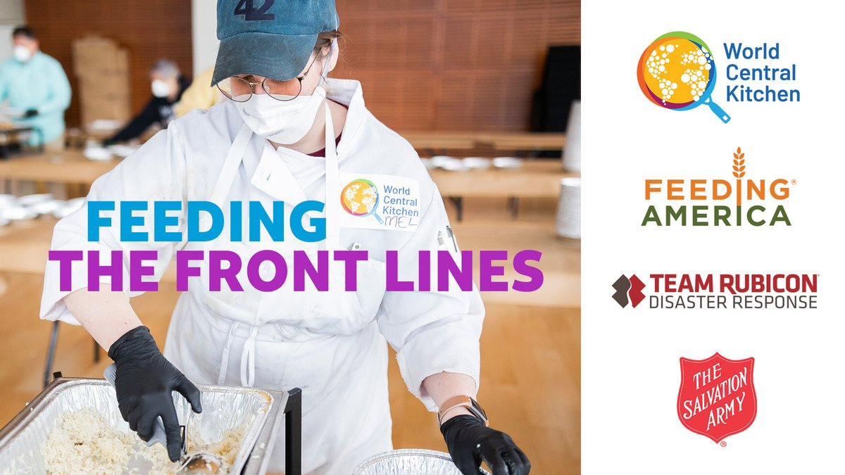 First responders and healthcare professionals serve their communities day in and day out. Here's how we're collaborating with @WCKitchen, @FeedingAmerica, @SalvationArmyUS, @TeamRubicon and other local organizations to help serve them: http://go.att.com/feedingthefrontlines … #ConnectedTogether
