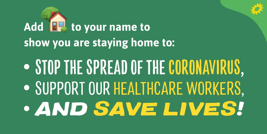 🏡 Are you in? 🦠 COVID-19 is infecting and killing thousands of people and overwhelming our health-care system. Staying at home is the best defence we have against spreading it - and it will save lives! #StayHome #COVID19
