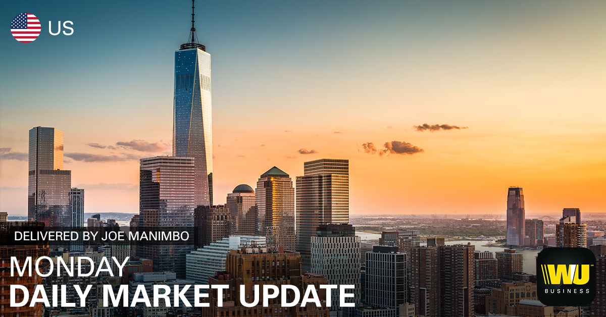Buck steady to begin holiday-shortened week: https://bit.ly/2XhIA7x - Euro subdued near 1-week low - Improved risk tolerance buoys sterling - Loonie rises but big jobs report looms  #WUMarketUpdate