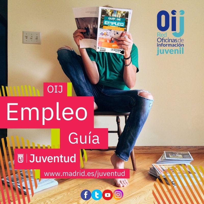 Durante este tiempo conoce los #recursos de empleo y mejorar tu #empleabilidad para el futuro. Aquí http://bit.ly/guiaempleo2020 te dejamos la guía de #empleo #joven que te servirá de gran ayuda#madridesjuventud #joven #Madrid #ConectaJuventud2.0pic.twitter.com/i12Zfqy38U