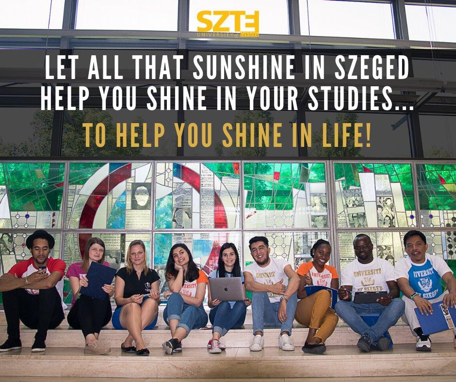 #SZTE #Szeged #StayPositive