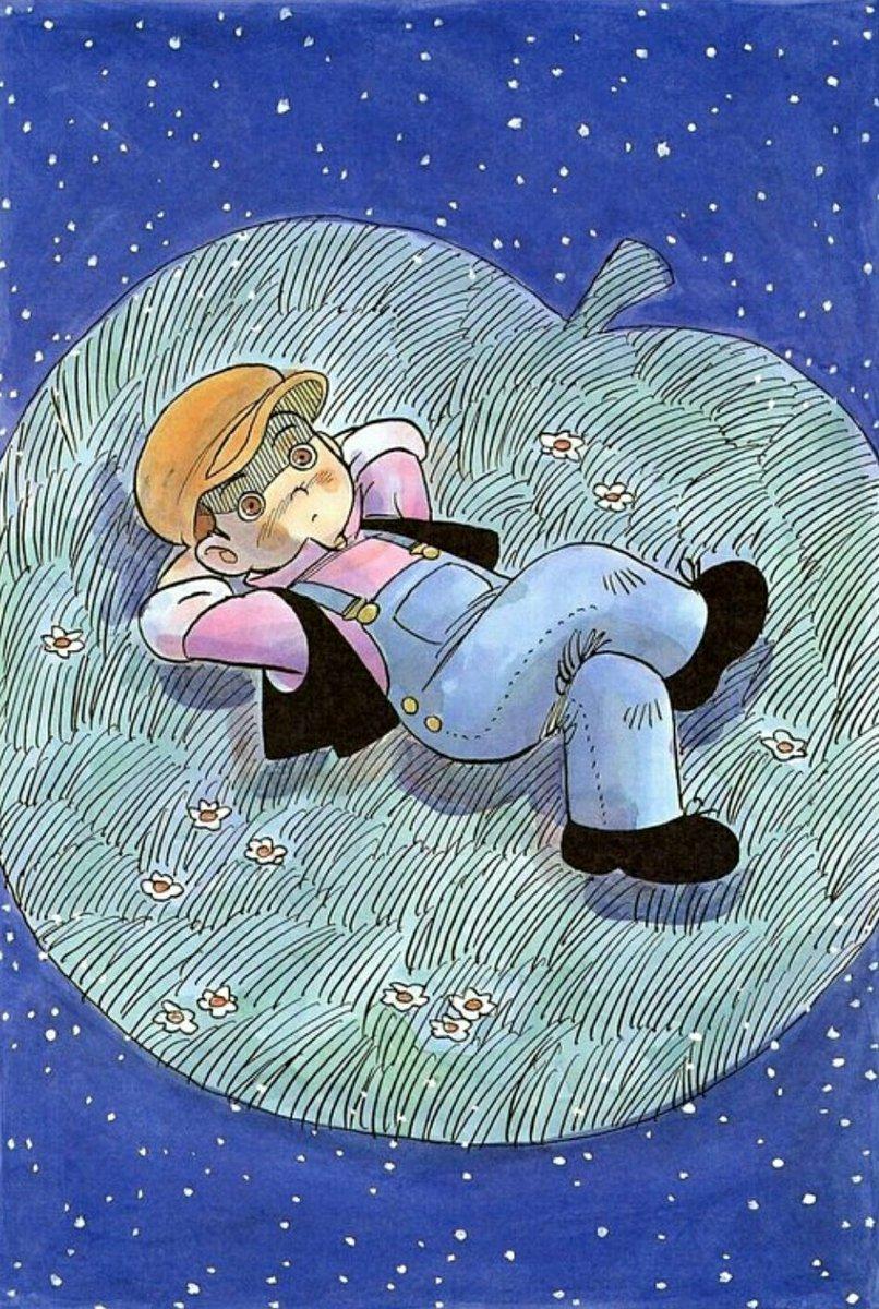 """偶然""""銀河鉄道の夜""""の漫画作品を発見。永島慎二58歳の頃、1996年の作品で永島の晩年の最後の渾身作品であることが後書きを読まずとも伝わってくる。描き下ろし天然色。永島慎二・宮沢賢治 『銀河鉄道の夜』 #マンガ図書館Z"""