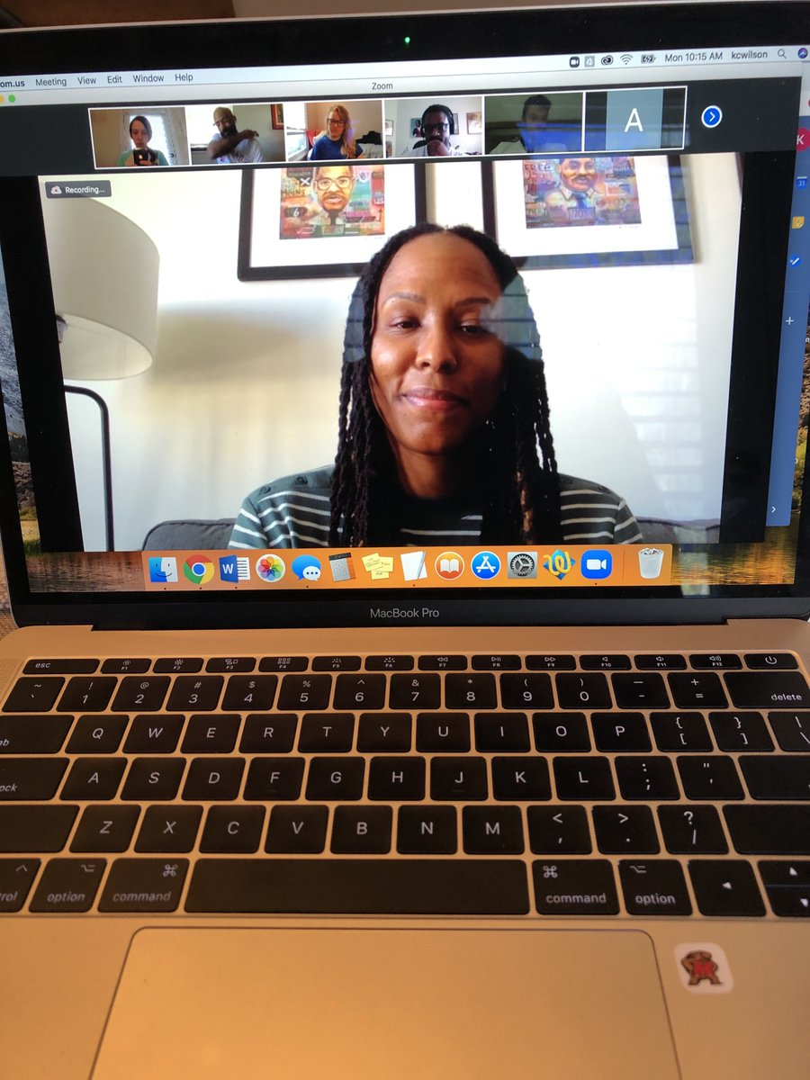 Thanks to Chamique Holdsclaw (@Chold1) for joining @ProfBlackistone's Sportswriting & Reporting Class to discuss what it's like to be covered. https://t.co/C7ShvvwjLu
