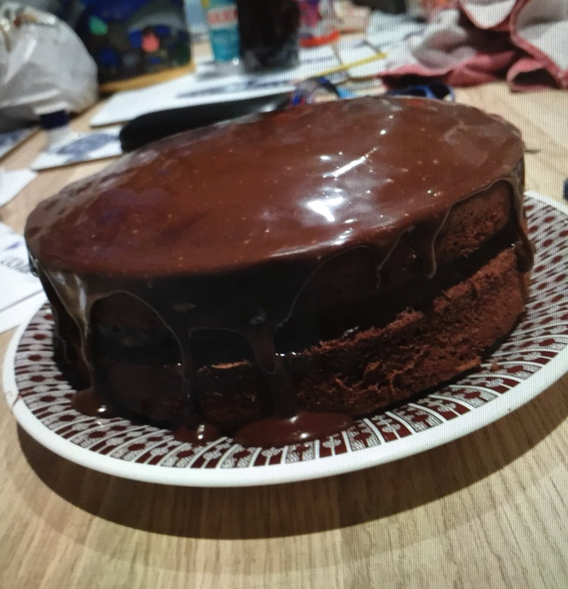 My #dofebronze participants are busy at home working on their skills! #yummy #bakeoff #chocolatecake pic.twitter.com/nHVURL32hS