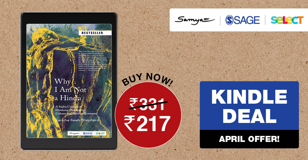 Special #Kindle #April offer on our title Why I Am Not A Hindu. Place your order on #Amazon today @ ow.ly/wdPu50z61YR @StreeSamya @AmazonKindle