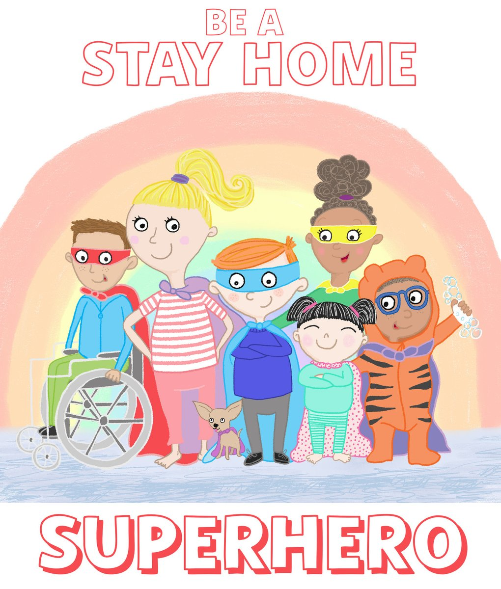 StayHomeSuperheroes hashtag on Twitter