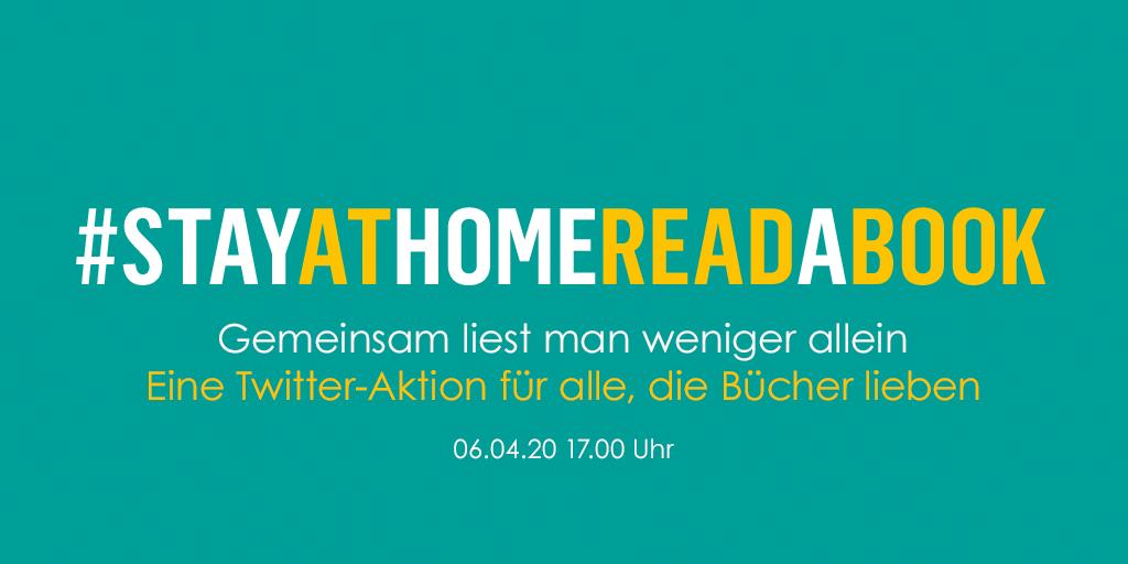 #StayAtHomeReadABook