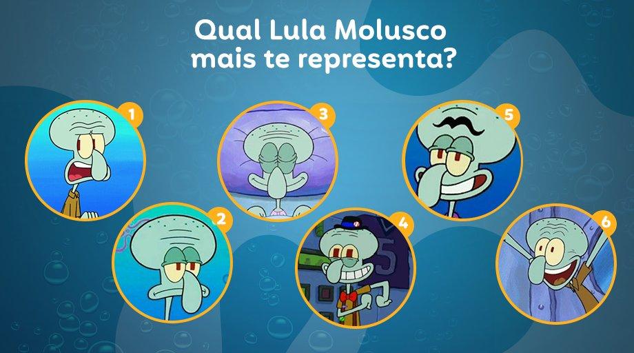 Com certeza existe uma expressão do Lula Molusco que te representa nesta segunda-feira.  Conta pra gente, qual delas é você? https://t.co/eTqA3QUBTs