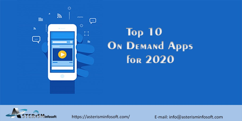 list of Top 10 On Demand Apps 2020-Users are Crazy about!!   #uber #androidiOs #mobileapp #application #appdeveloper #chatbot #coding #master #blockchain #technohub #ittechno #software #technologypic.twitter.com/YDEdJrn8X3