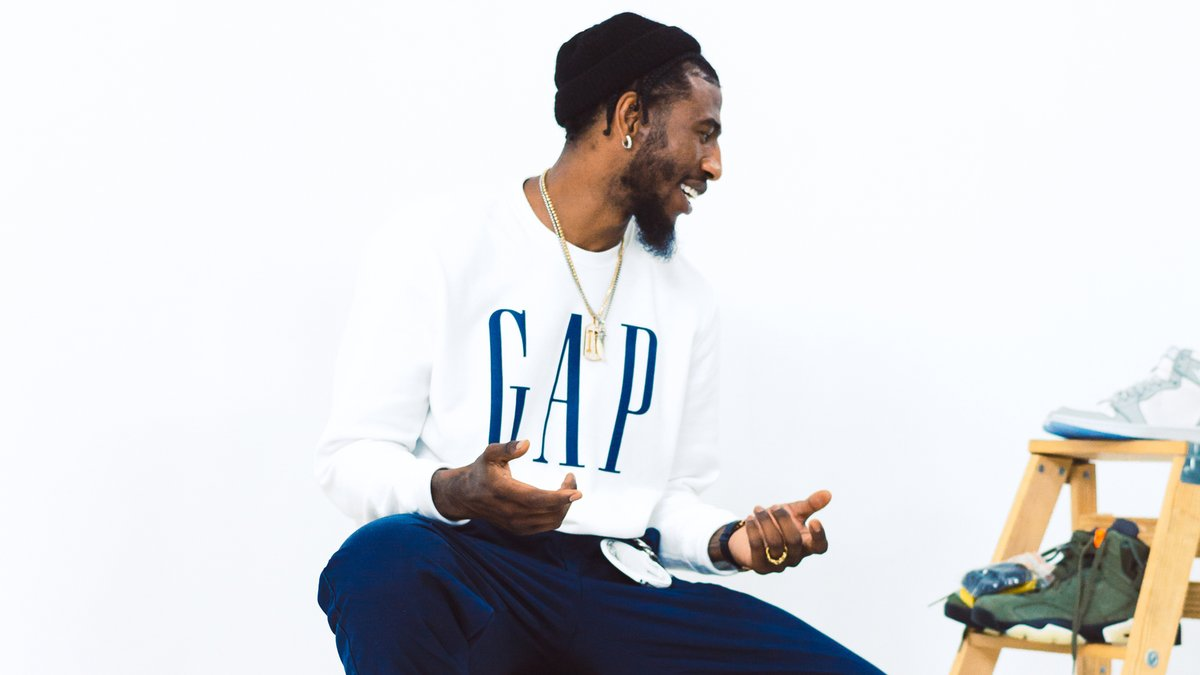 .@imanshumpert surprises Sean Taylor's brother Gabe to give him a full @gap wardrobe upgrade 🔥 #DripDirector  (@teyanataylor) https://t.co/WxxCCIs4hy