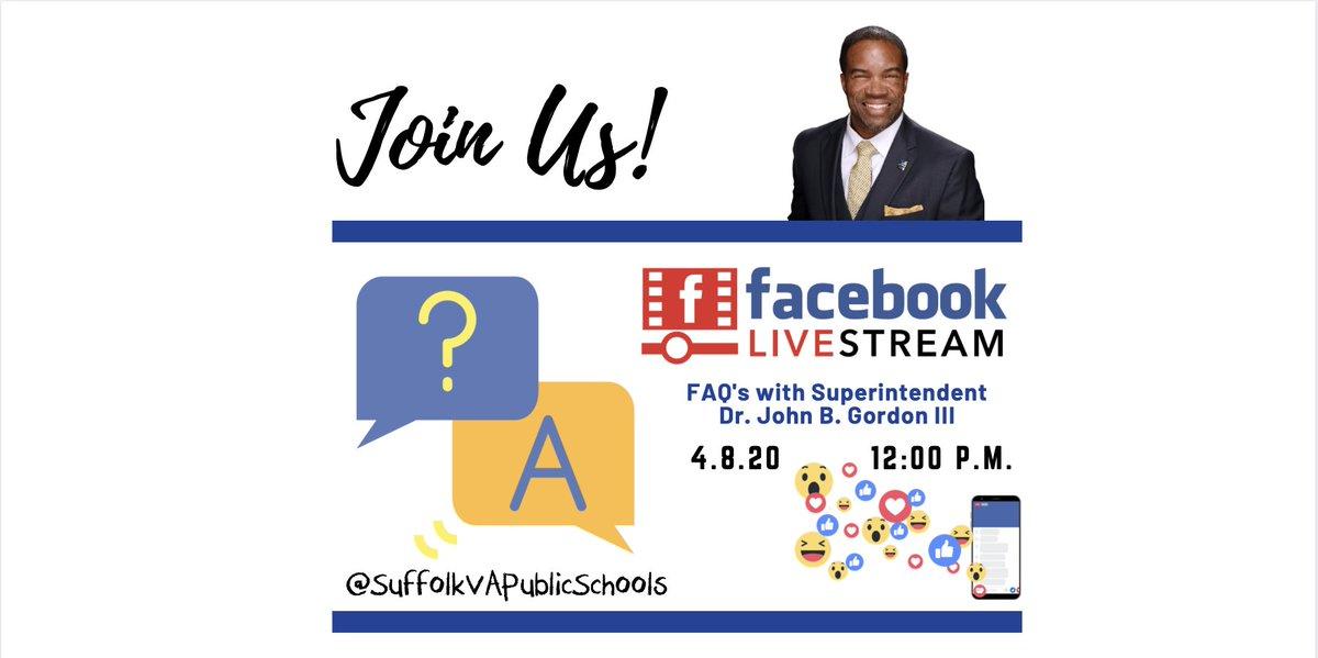 SuffolkPublicSchools (@SufVAschools) on Twitter photo 06/04/2020 15:56:32