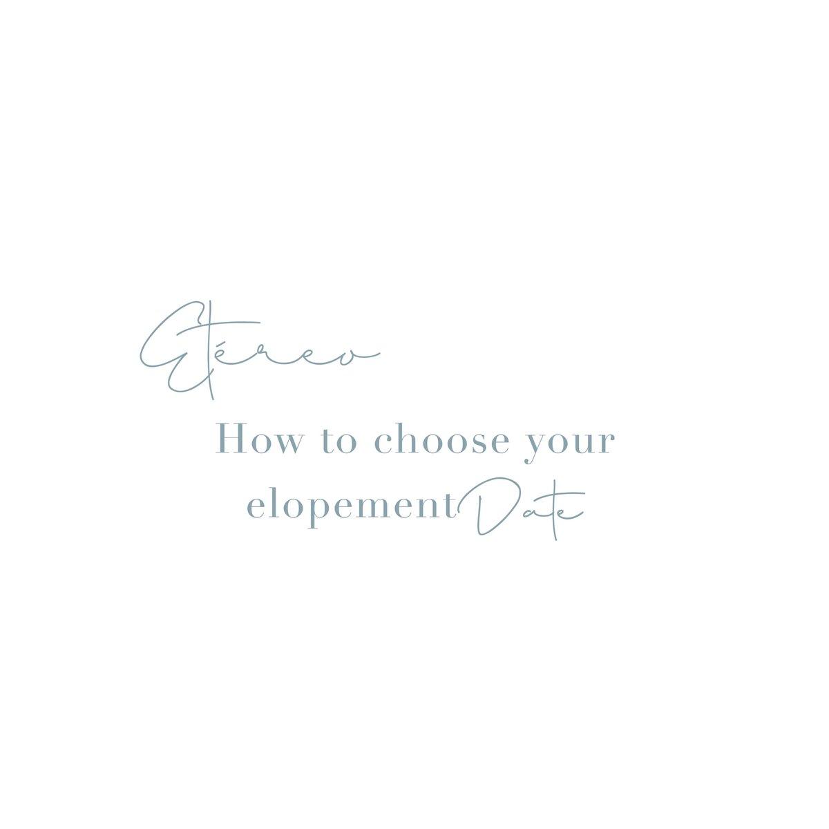 4 recommendations to choose your elopement date! .  #Elopement #Elopements #ElopementPlanner #ElopementWeddings #EtéreoElopements #ElopementsToday #WeddingsToday #WeddingDetails #TieTheKnot #IntimateWedding #Wedding #WeddingDay #SpecialDaypic.twitter.com/GugiqqfnKr
