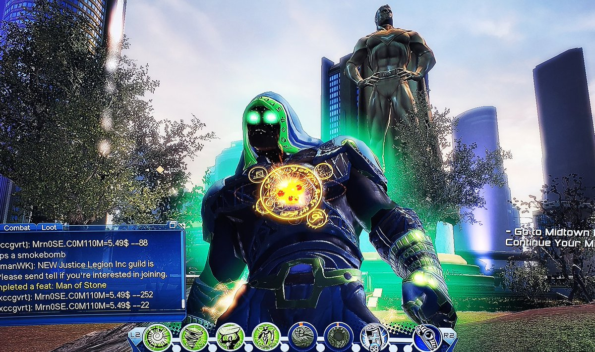 DC UNIVERSE ONLINE is awesome!!  A hero in the making! DC Universe Online Playthrough || 2020: https://www.youtube.com/playlist?list=PLIzR62wzT7Fpgqp4sw7uwUL5SwWYMr5DB …  #DCUO #DCUniverseOnline #DCUniverse pic.twitter.com/Pw3u0tflo6