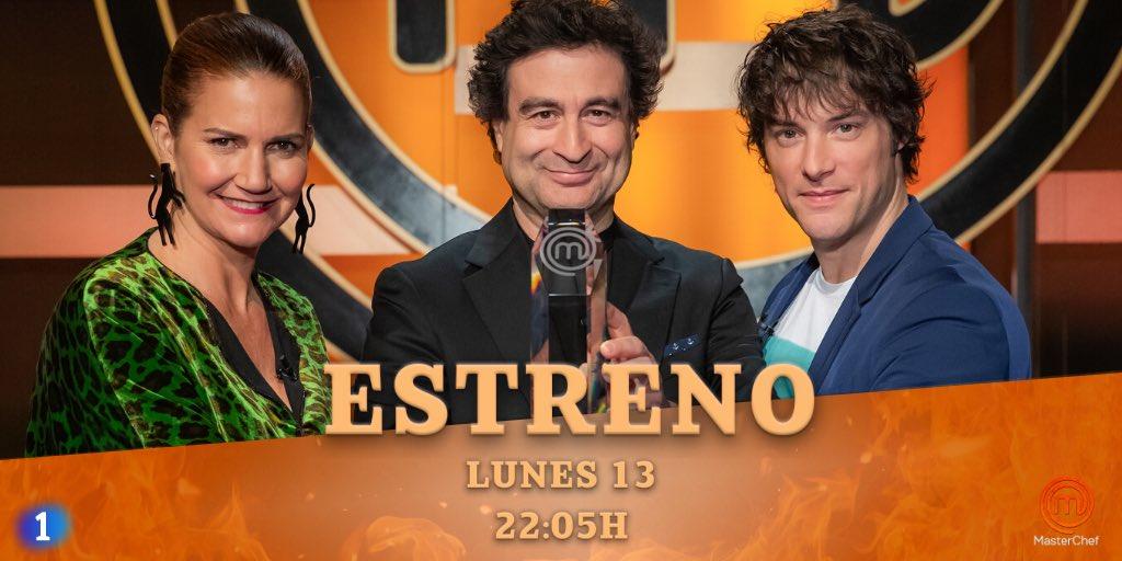 🔥EXCLUSIVA🔥 Este LUNES 13, a las 22.05H, llega el ESTRENO de #MasterChef 8 a @La1_tve. Pruebas espectaculares, nuevas dinámicas y un casting muy especial http://rtve.es/n/2011552
