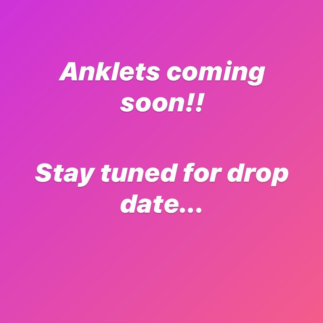 I'm so excited to be adding anklets to the site 😊. I absolutely love them✨✨ drop date coming soon!! . . . . #lavishblujewelry #anklets #springsale #onlinejewelry #onlineshopping #jewelry #jewelrylove...  📸  via